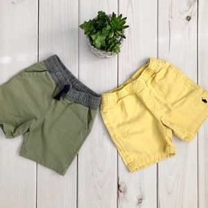 Two Pairs of Short Size 4T Ralph Lauren